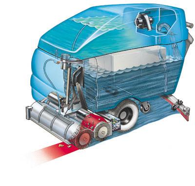 5700 commercial walk behind scrubber tennant company scrubber rh au tennantco com Tennant 5700XP Floor Sweeper Parts Tennant 5700XP Floor Sweeper Parts